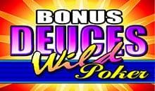 Bonus Deuces Wild - Free Slots No Deposit